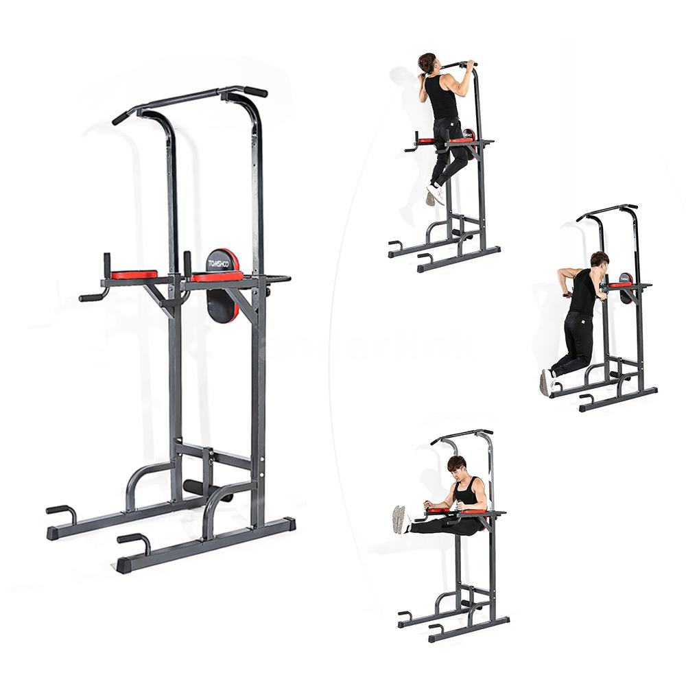 Multifunctional Pull Up Tower Muscle Strength Home Gym Workout Fitness Equipment Ebay