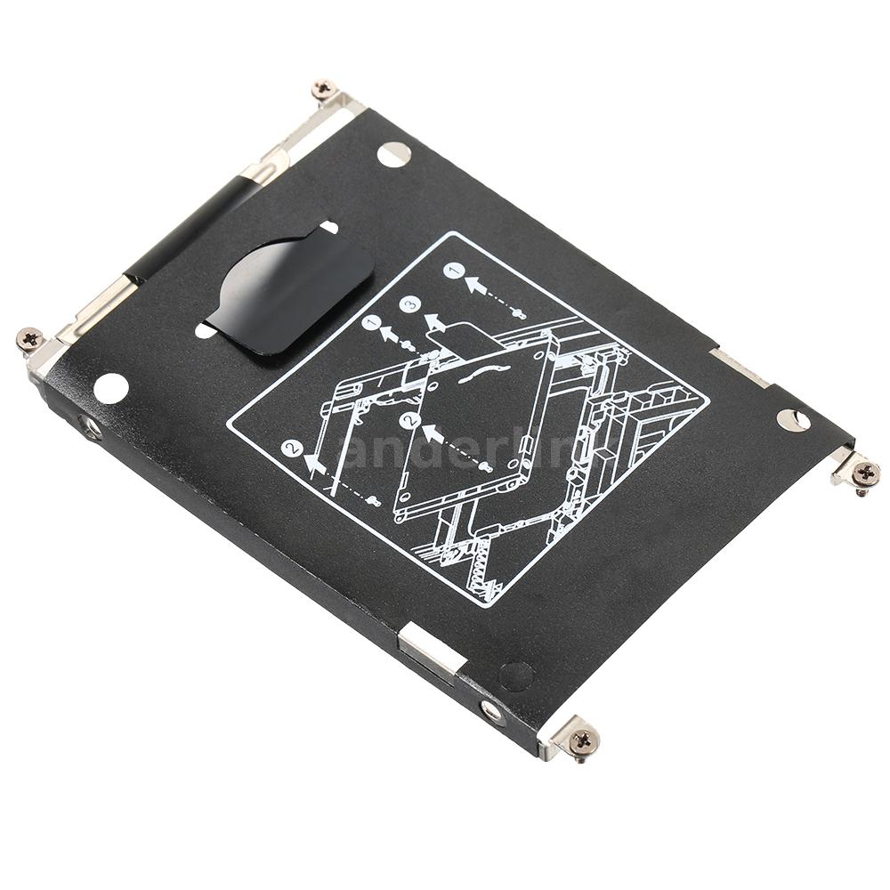sata hdd hard drive disk hdd caddy + connector for hp elitebook