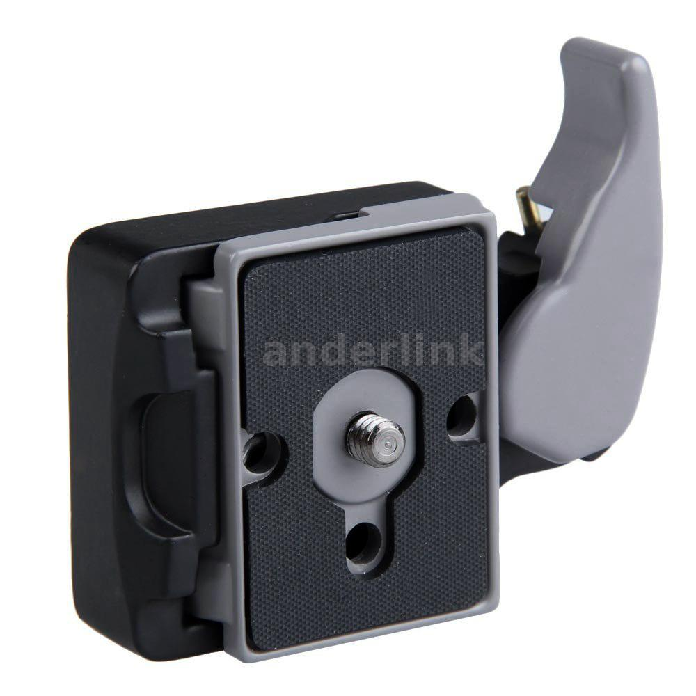 Camera quick release clamp adapter