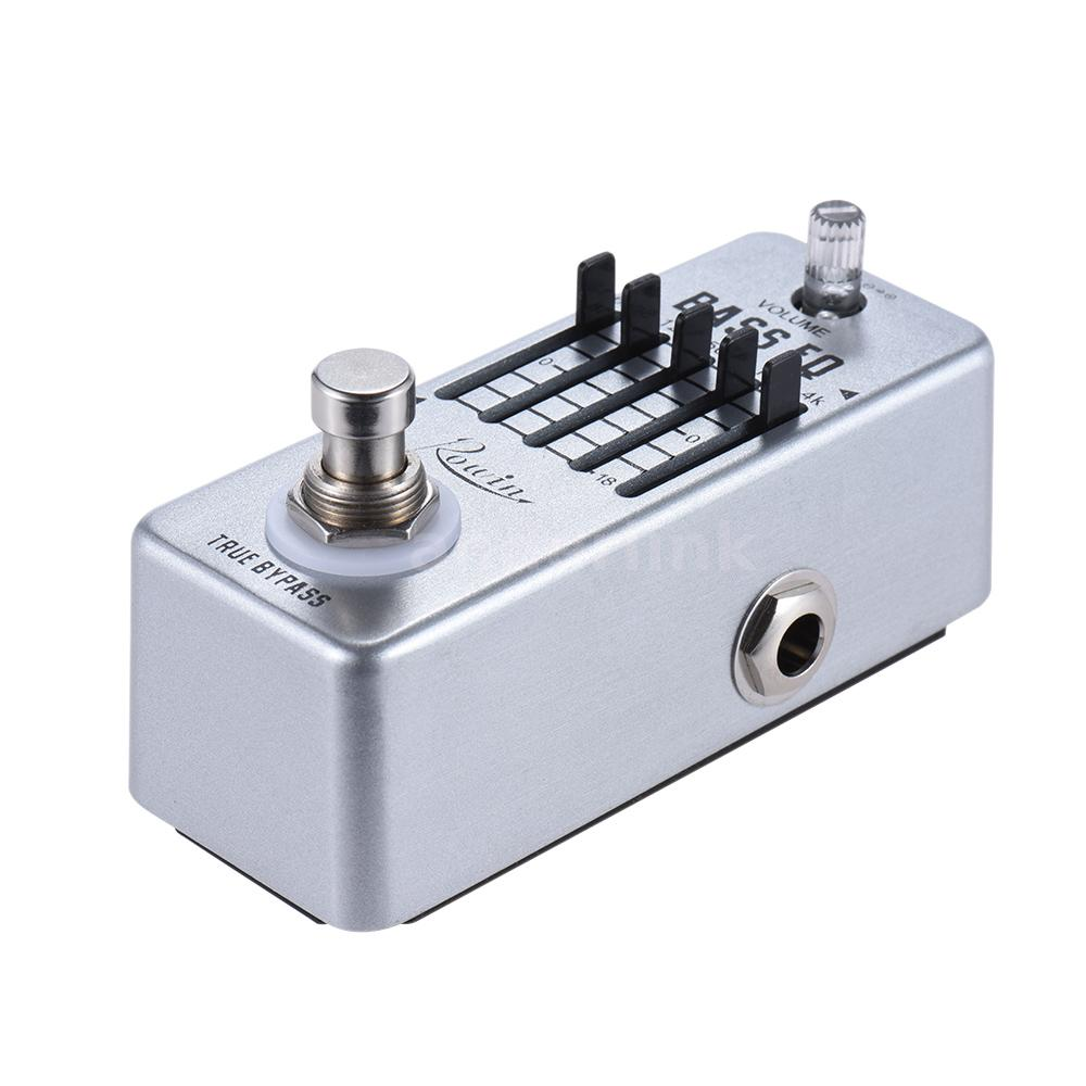 rowin bass guitar equalizer effect pedal 5 band eq true bypass y9p9 ebay. Black Bedroom Furniture Sets. Home Design Ideas