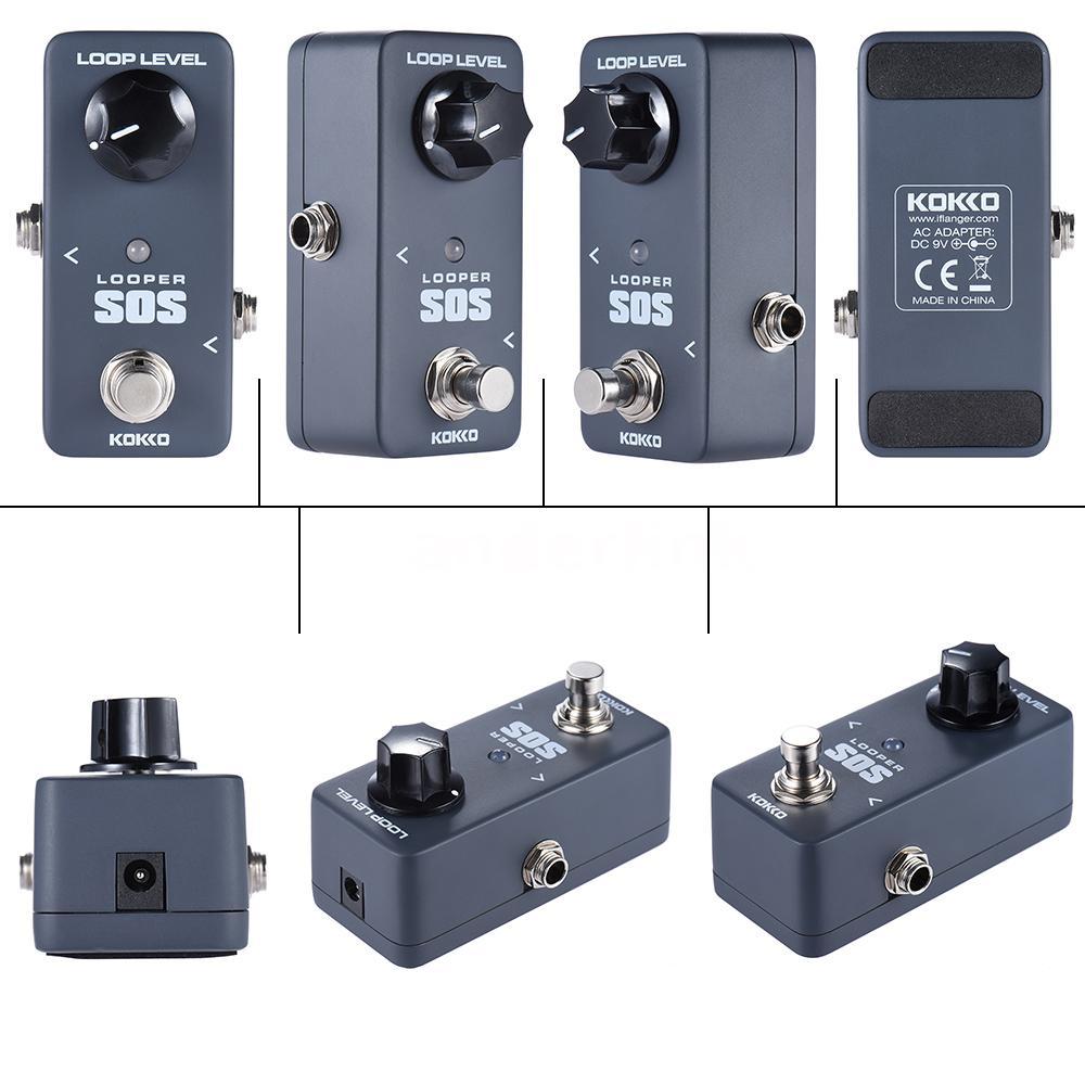 kokko flp2 mini sos looper pedal portable guitar effect pedal high quality u1b8 ebay. Black Bedroom Furniture Sets. Home Design Ideas