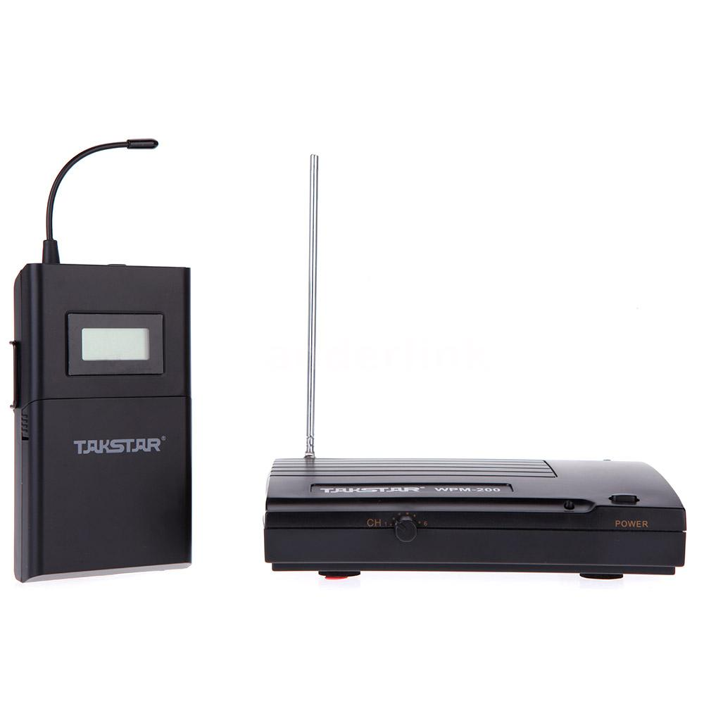 takstar wpm 200 receiver wireless monitor system in ear transmitter receive p9o8 ebay. Black Bedroom Furniture Sets. Home Design Ideas