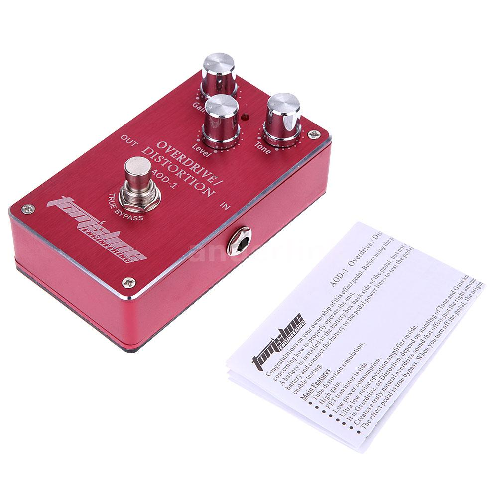 aroma overdrive distortion electric guitar effect pedal true bypass e2q1 ebay. Black Bedroom Furniture Sets. Home Design Ideas