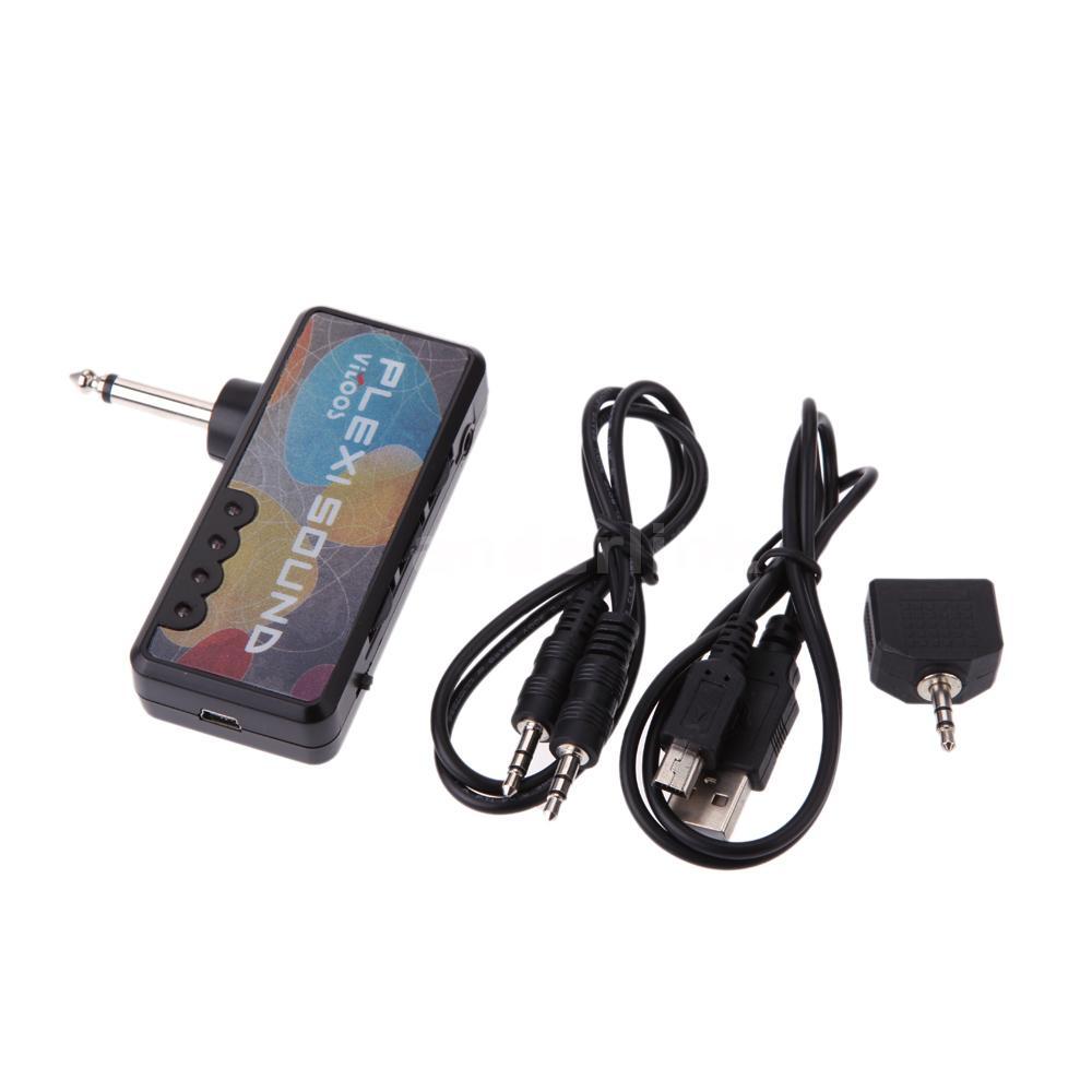 vitoos electric guitar plug mini headphone amp amplifier plexi sound e6l1 ebay. Black Bedroom Furniture Sets. Home Design Ideas
