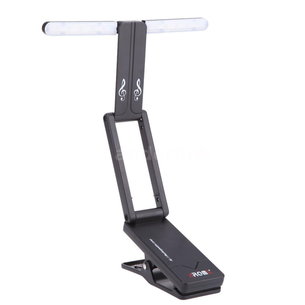 Clip On Rechargeable Music Stand Lamp For Piano Led Stage