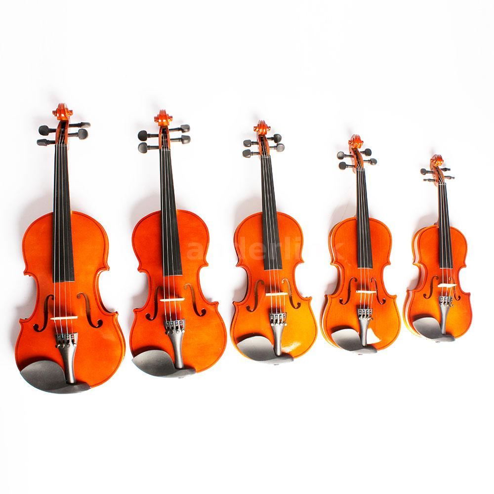 Toy Violins For 3 And Up : Size violin fiddle basswood steel string arbor bow toy
