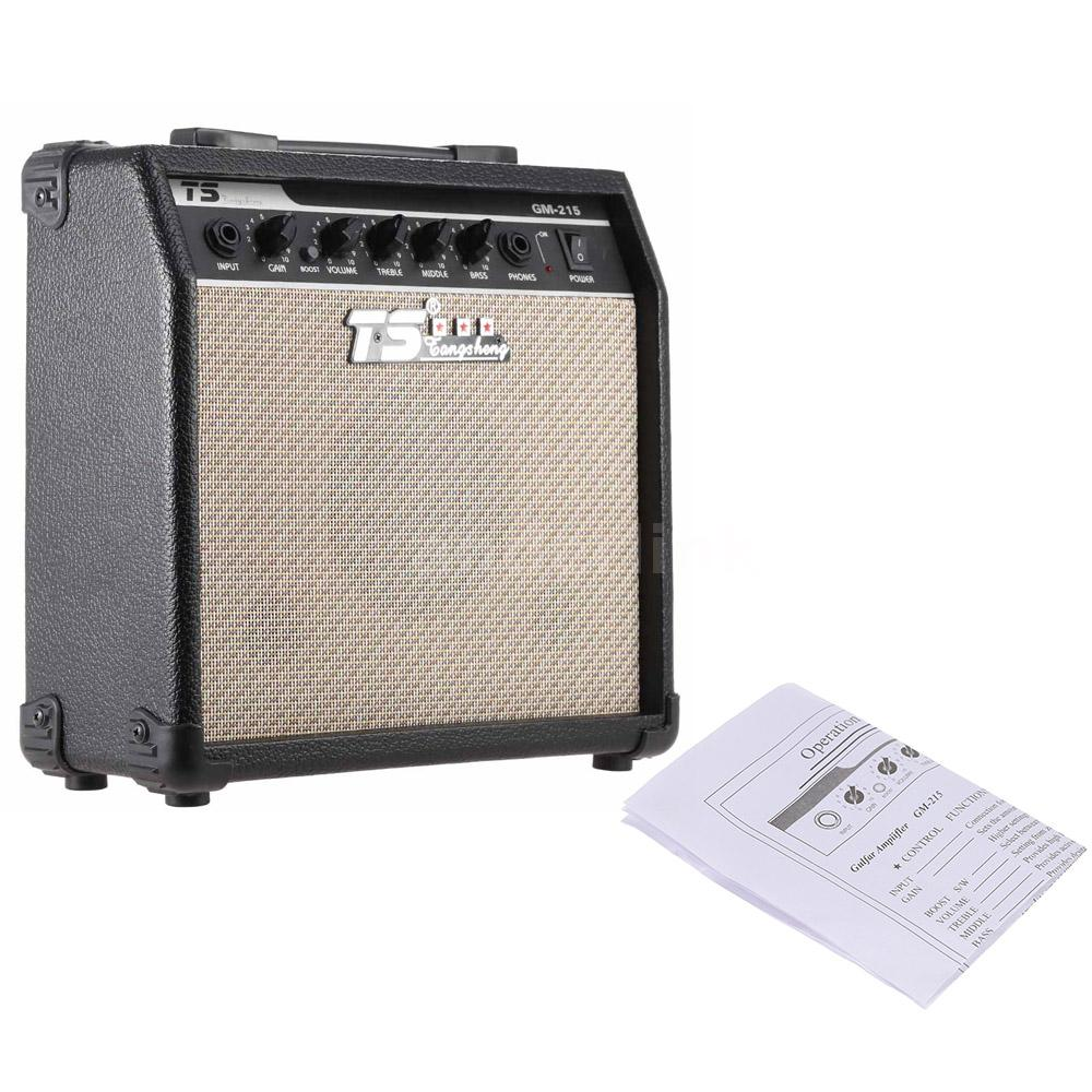 15w electric guitar amplifier amp distortion with 3 band eq 5 speaker m8r4 ebay. Black Bedroom Furniture Sets. Home Design Ideas