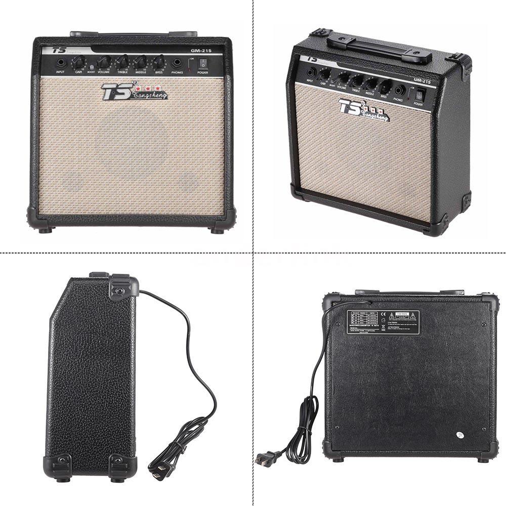 15w electric guitar amplifier amp distortion with 3 band eq 5 speaker m8r4 ebay. Black Bedroom Furniture Sets. Home Design Ideas