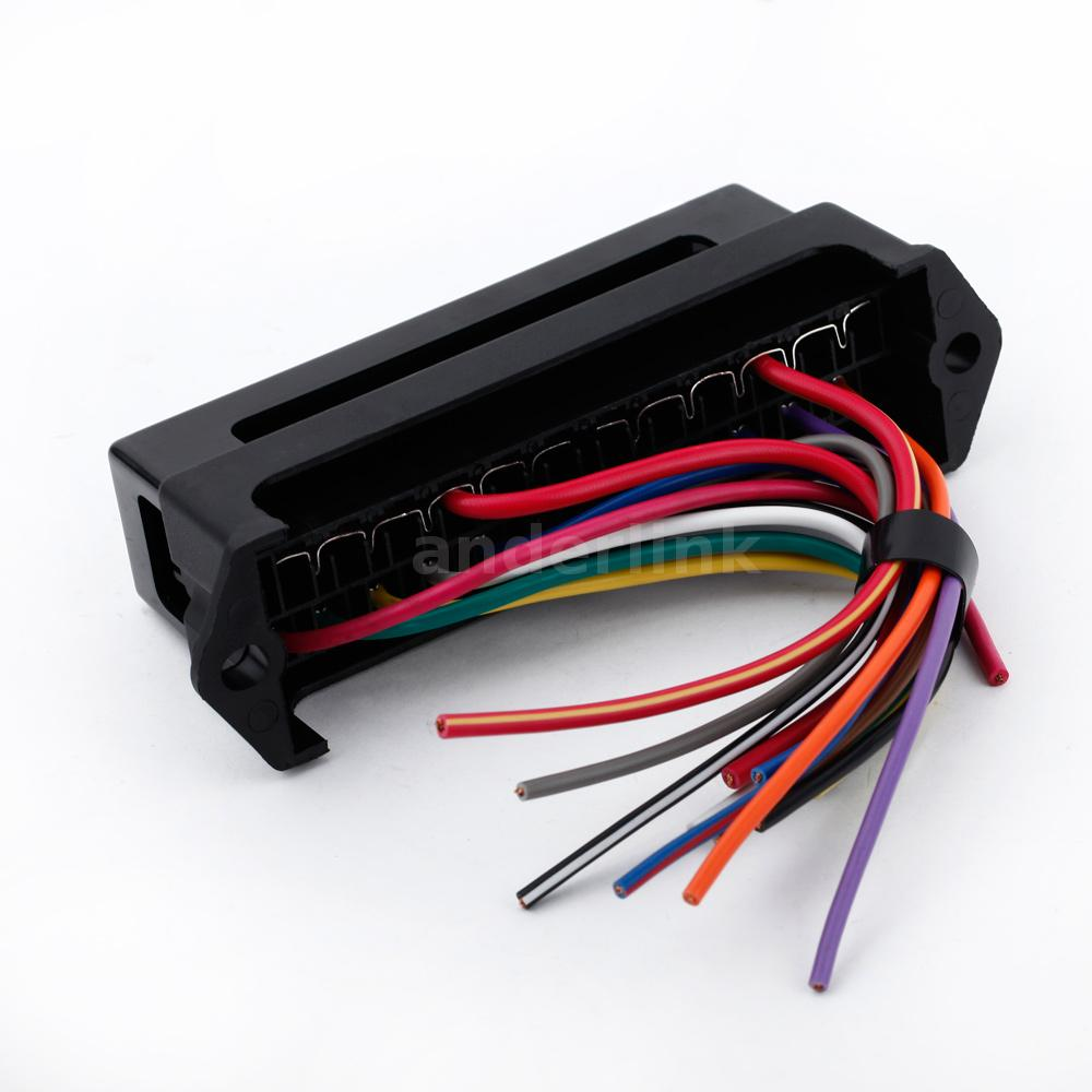 Two Fuse Block Holder Download Wiring Diagrams Maxi Box 12 Way 32v Circuit Car Boat Blade