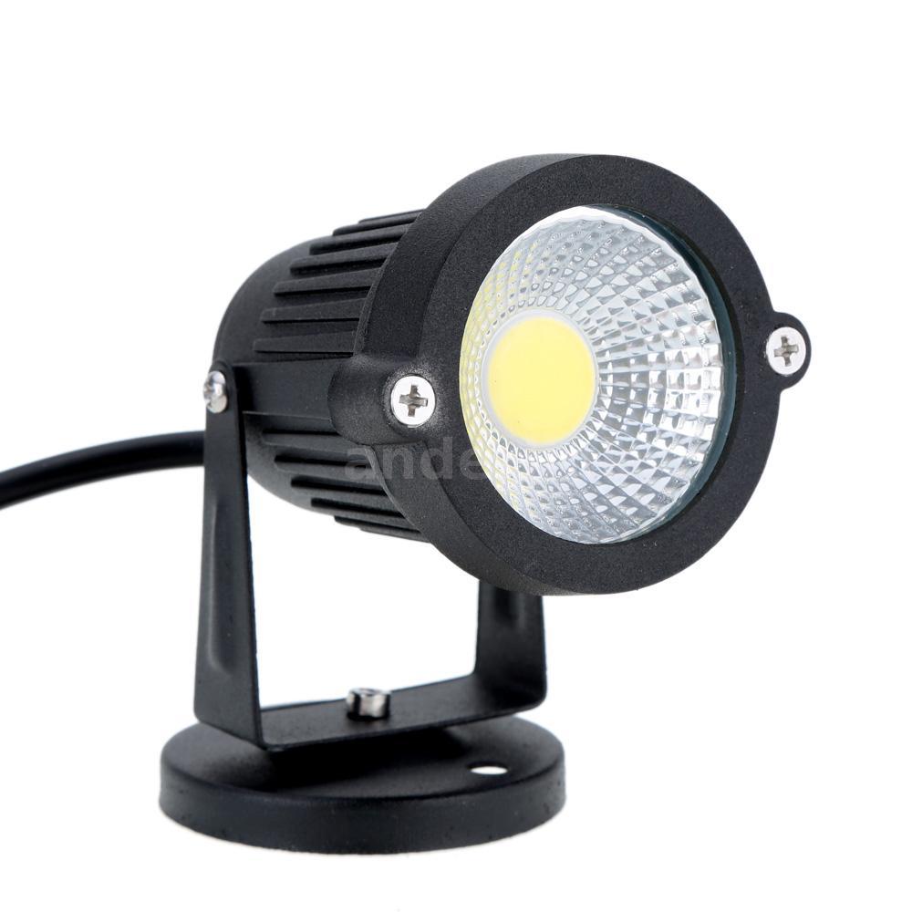 8w ip65 led lawn spot light lamp high power rgb waterproof for landscape ce h59k ebay. Black Bedroom Furniture Sets. Home Design Ideas