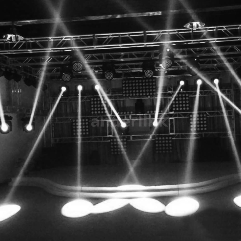 Led Spotlight Stage Light: 5W Stage Light Lighting LED Beam Spotlight Mirror Ball DJ