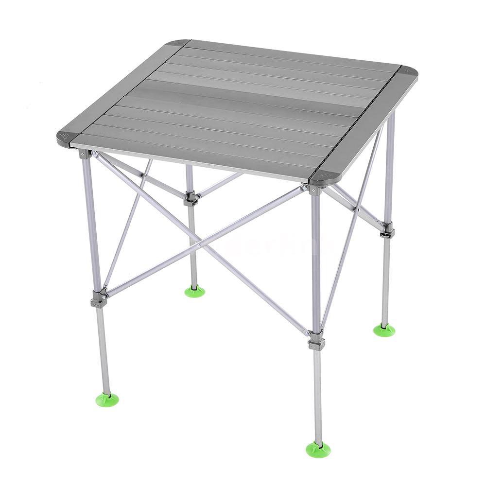 portable folding aluminum table outdoor picnic party dining camping desk al u9d9 ebay. Black Bedroom Furniture Sets. Home Design Ideas
