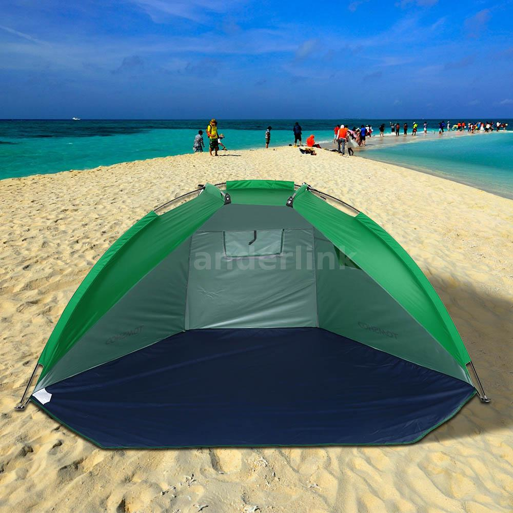 portable beach sun shade canopy tent outdoor camping picnic family sports s2i5 718760180855 ebay. Black Bedroom Furniture Sets. Home Design Ideas